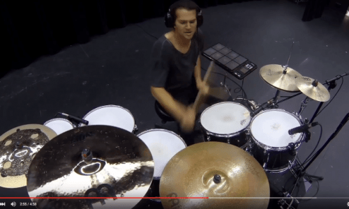 "Image for Aric Improta's ""Drum Chain"" Video"