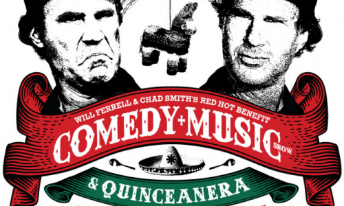 Image for News: Will Ferrell and Chad Smith Host Red Hot Benefit
