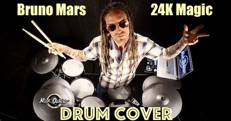 Image for Bruno Mars – 24K Magic (Drum Cover)