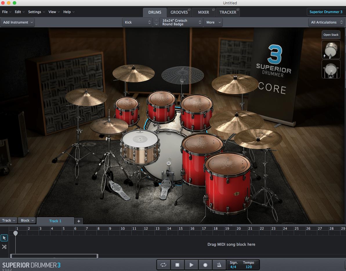 best drum software superior drummer 3 by nick oshiro. Black Bedroom Furniture Sets. Home Design Ideas